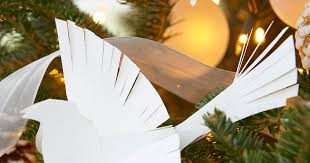 paper bird tree ornaments craftaholics anonymous paper