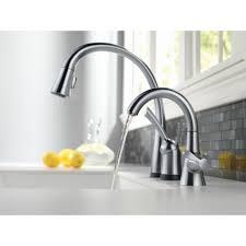 Delta Pilar Kitchen Faucet Delta Faucet 980t Dst Pilar Polished Chrome Pullout Spray Kitchen