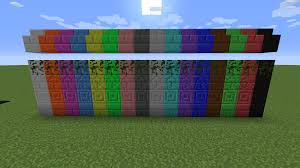 Stone Stairs Minecraft by Galactic Colored Blocks Cosmetic Minecraft Mods Curse