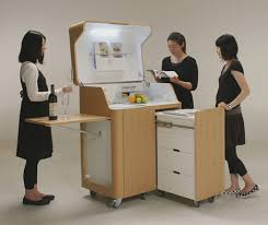 Kitchen Office Furniture Rooms On Wheels Mobile Kitchen Bedroom Office Spaces Urbanist