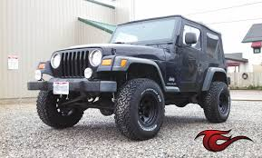 matte tiffany blue jeep check out this 03 wrangler we customized with a 3in zone 15x8 ion