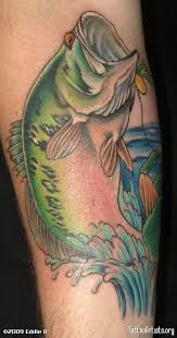 cool bass fishing tattoos fish tattoos designs and ideas page 5