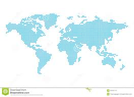 World Map Ai File Free Download by World Map In Pixels Stock Photos Image 31591113