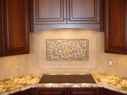 Glass Mosaic Tile Kitchen Backsplash Ideas Decorating Beach Break Hand Painted Glass Mosaic For Glass