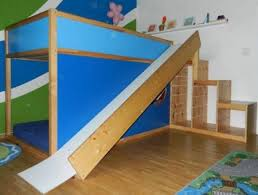 Best Kids Room  Ikea Bunk Bed Images On Pinterest Ikea Kura - Ikea bunk bed slide