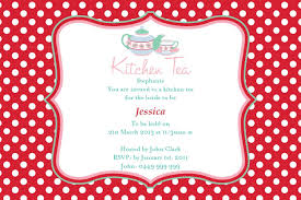 Bridal Shower Invitation Cards Kitchen Party Invitation Card Samples Kitchen Party Invitation