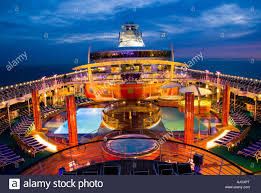 liberty of the seas largest cruise ship in the world stock photo