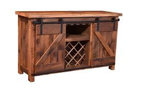 Barn Door Cabinets Barn Door Wine Server