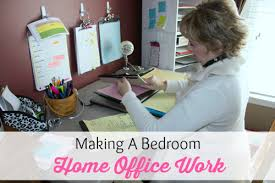 Office Space Organization Ideas Making A Bedroom Office Work Organize 365