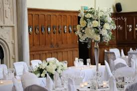 wedding flowers surrey stunning ivory wedding flowers at horsley towers wedding in surrey
