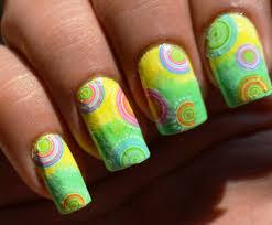 nail art designs concentric circles decals nail art nail water