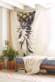 Wall Tapestry Urban Outfitters by Deb Haugen For Deny Pineapple 1 Tapestry Urban Outfitters