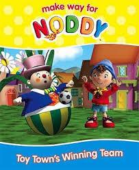 toy town u0027s winning team noddy enid blyton