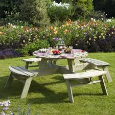 garden picnic tables internet gardener