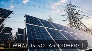 solar power what is solar power