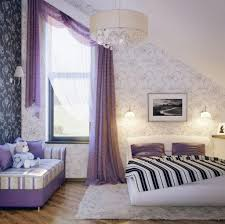 Purple Bedroom Curtains Purple Curtains For Girls Bedroom Image Also Nice Beautiful Attic