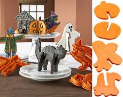 3d halloween cookie cutters baking bites