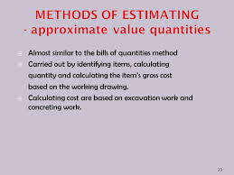Excavation Estimating by Taking And Estimating Ppt