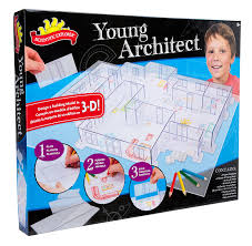 amazon com scientific explorer young architect building set toys