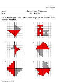 rotation worksheet worksheets