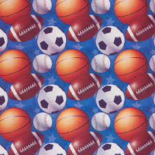 soccer wrapping paper wrapping paper with gift tags sports balls 2 5 x 6 walmart