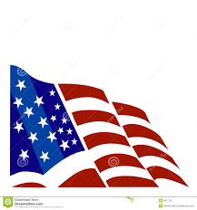 Waving American Flag American Flag Vector Clipart