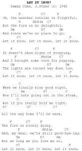 lights down low guitar chords let it snow christmas carols lyrics and history