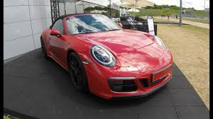 pink porsche interior porsche 911 carrera gts cabriolet 991 2 new model 2017 facelift