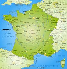 Map Of Spain With Cities by Detailed Map Of France Recana Masana