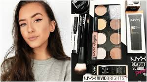 Make Up Nyx testing nyx makeup of impressions ren礬e