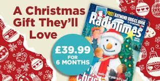 magazine subscription radio times