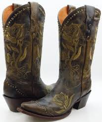 womens brown leather boots canada lucchese m5700 womens olive brown leather cowboy boots