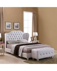 holiday shopping u0027s hottest deal on white faux leather king size