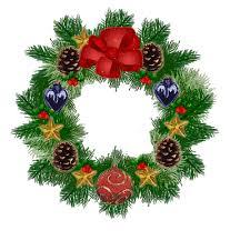 christmas garland blinking lights gif christmas wreath garland