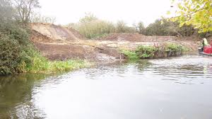 canap banc canal bank renewal update chichester canal