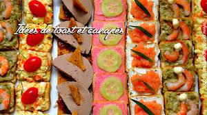 canapé toast idées de toast et canapés apéritif petits plats entre amis
