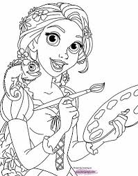 tangled coloring pages pascal tangled pascal coloring pages