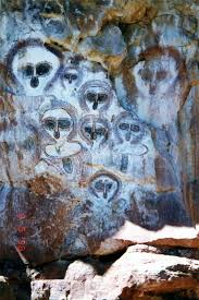 australia aboriginal cave art in the kimberley region