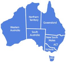 states australia map australian guardianship