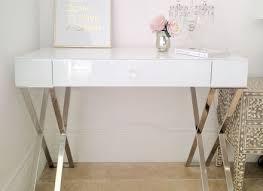 Modern White Vanity Table Bedroom Furniture White Dressing Table Chair Little Girls
