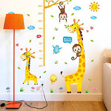 stickers girafe chambre bébé stickers savane chambre bb great la collection de stickers savane