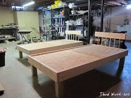 best 25 twin bed frame wood ideas on pinterest diy twin bed
