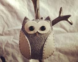 felt owl etsy