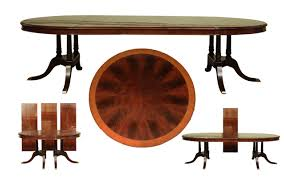 mahogany dining table large traditional round mahogany dining table for 6 to 12 people
