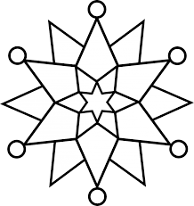 snow flake coloring pages coloring pages xmas decorations