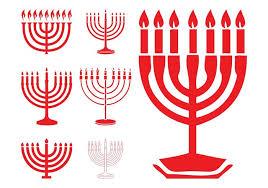 hanukkah menorahs hanukkah menorahs free vector stock graphics images