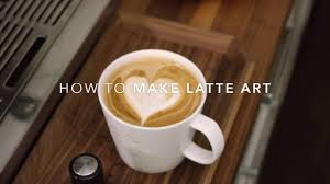 how to make designs on coffee how to make latte art at home youtube