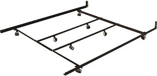 White Metal Kingsize Bed Frame Bed Frames King Size Frames Frame Dimensions Brown Table On