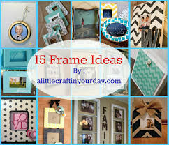 awesome decorating picture frame ideas cool home design unique