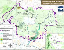 map of oregon mountains ochoco mountains national recreation area background information